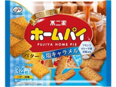 不二家 ホームパイ バター&塩キャラメル 袋2枚×17
