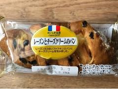 ヤマザキ レーズンとチーズクリームのパン 袋1個