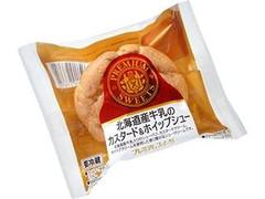 ヤマザキ PREMIUM SWEETS 北海道産牛乳のカスタード&ホイップシュー 袋1個