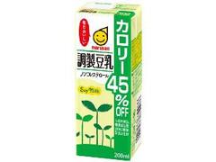 マルサン 調整豆乳 カロリー45%オフ パック200ml