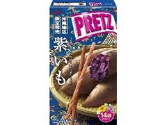 グリコ ジャイアントプリッツ 紫いも 14袋