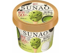 グリコ SUNAO 抹茶&クランチ カップ120ml