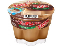 グリコ Bigプッチンプリン パピコ チョココーヒー カップ155g