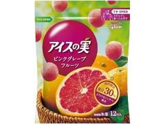 グリコ アイスの実 ピンクグレープフルーツ 袋12個