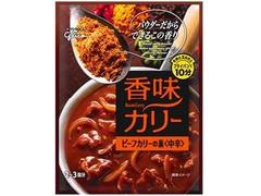 グリコ 香味カリー ビーフカリーの素 中辛 箱58g