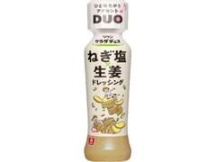 リケン サラダデュオ ねぎ塩生姜 ドレッシング ボトル190ml