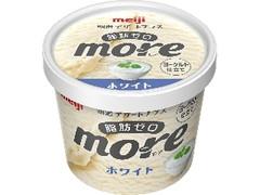 明治 デザートプラス more ホワイト カップ105ml