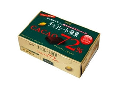 明治 チョコレート効果72% 箱75g