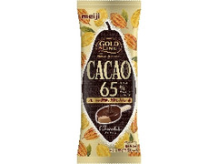 明治 GOLD LINE CACAO65% チョコレート 袋90ml