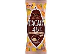 明治 GOLD LINE CACAO48% バニラ 袋90ml