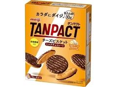 明治 TANPACT チーズビスケットミルクチョコレート 箱3枚×4