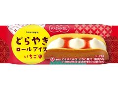 井村屋 KASANEL どらやきロールアイス いちご 袋62ml