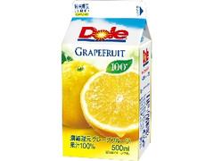 Dole グレープフルーツジュース100% パック500ml