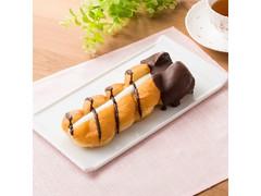 ファミリーマート ツイストサンドドーナツ(カスタード&ホイップ)