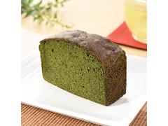 ファミリーマート FAMIMA CAFE&SWEETS 濃い色抹茶のパウンドケーキ