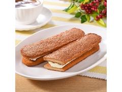 ファミリーマート 香ばしいクッキーのクリームサンド キャラメル