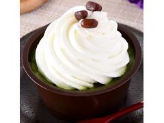 ファミリーマート クリームほおばる宇治抹茶ケーキ