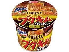 エースコック スーパーカップ1.5倍 ブタキムチーズ味うどん