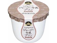 オハヨー ジャージー牛乳プリン カフェラテ カップ115g
