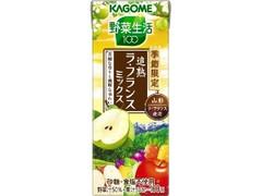 カゴメ 野菜生活100 追熟ラ・フランスミックス パック195ml