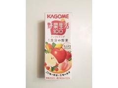 カゴメ 野菜生活100 アップルサラダ 1食分の野菜 パック200ml
