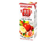 カゴメ 野菜生活100 アップルサラダ パック200ml