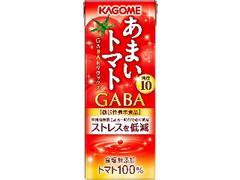 カゴメ あまいトマト GABA&リラックス パック195ml