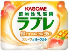 カゴメ 植物性乳酸菌ラブレ フルーツ&ヨーグルト