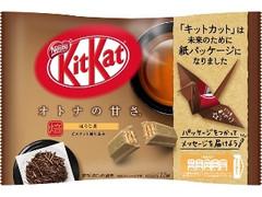 ネスレ キットカット ミニ オトナの甘さ ほうじ茶 袋12枚
