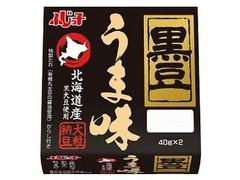 フジッコ 黒豆 うま味 パック40g×2