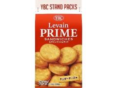 YBC ルヴァンプライムサンド チェダーチーズ味 袋9枚×2