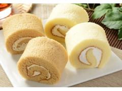 ローソン ロールケーキ コーヒー風味クリームと北海道産牛乳入りクリーム