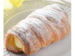 ローソン クッキーデニッシュコロネ レモン風味のカスタードクリーム