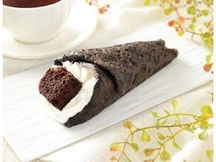 ローソン チョコバナナクレープ包み 3種のベリーソース入り