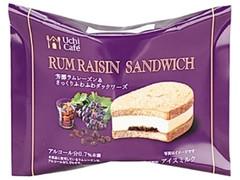 ローソン Uchi Cafe' SWEETS ラムレーズンサンド