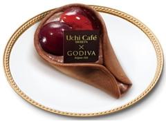 ローソン Uchi Cafe' SWEETS×GODIVA チェリーショコラワッフル