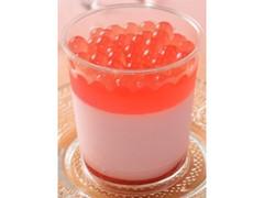 ローソン ボバボバ プチプチ食感のボバボバいちごミルクムース