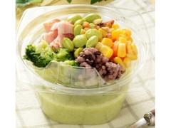 ローソン NL 食べる冷製スープ 枝豆と五穀