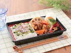 ローソン 鶏と野菜の黒酢あん&しらすご飯