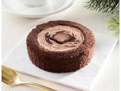 ローソン 生ショコラロールケーキ