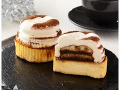 ローソン Uchi Cafe' SWEETS ティラミスバスチー バスク風チーズケーキ