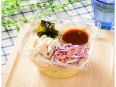 ローソン 蒸し鶏とわかめのこんにゃく麺サラダ