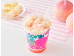 ローソン MACHI cafe' フローズンパーティー ピーチ