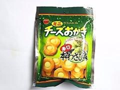 ブルボン ミニチーズおかき 辛口本わさび味 袋28g