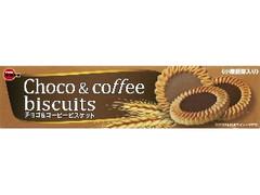 ブルボン チョコ&コーヒービスケット 箱24枚
