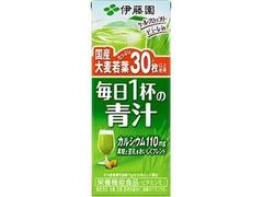 伊藤園 毎日1杯の青汁 パック200ml