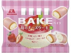 森永製菓 ベイク 苺のチーズケーキ味 袋10粒