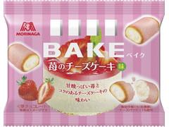 森永製菓 ベイク 苺のチーズケーキ味