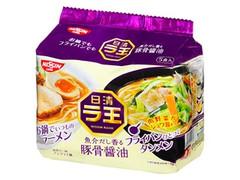 日清食品 ラ王 豚骨醤油 袋102g×5
