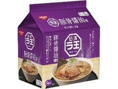 日清食品 日清ラ王 豚骨醤油 袋490g